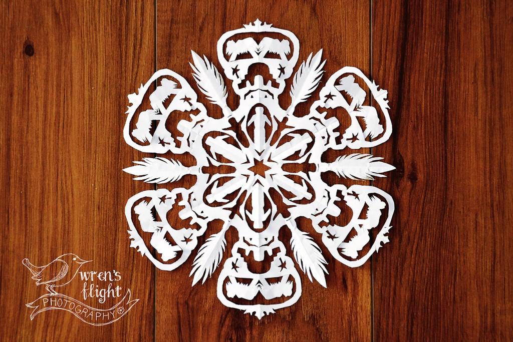2015 Christmas Snowflake 2