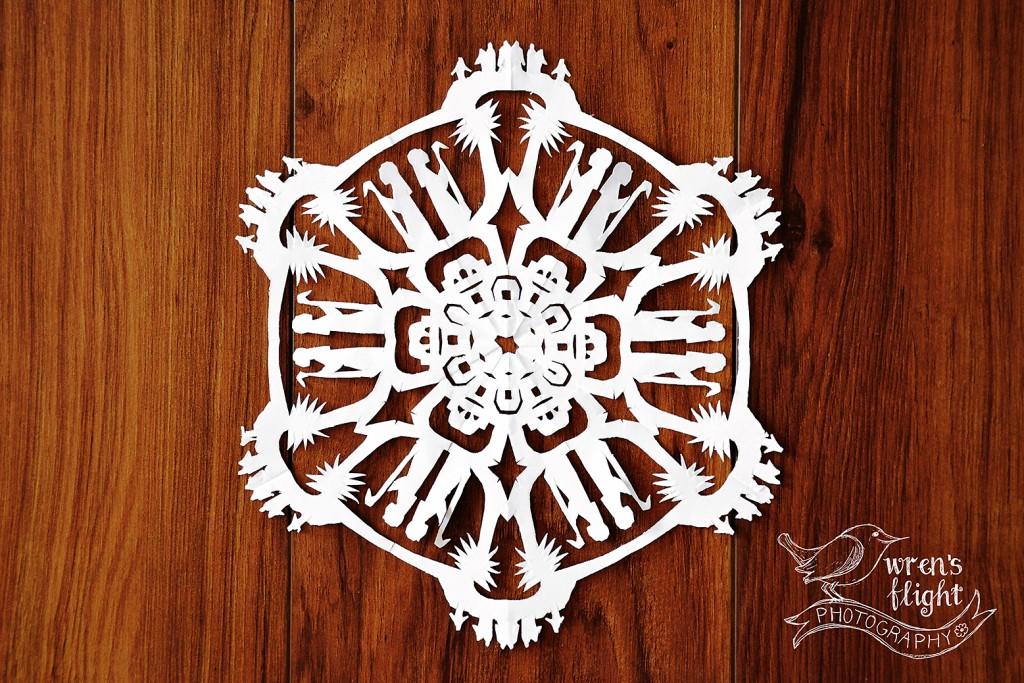 2015 Christmas Snowflake 3