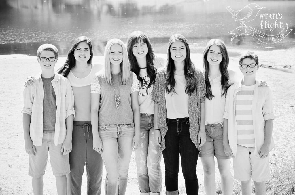 Group Sibling Photo Utah Family Photographer