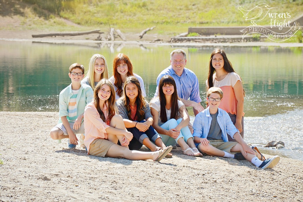 Lakeshore Family Photos Utah