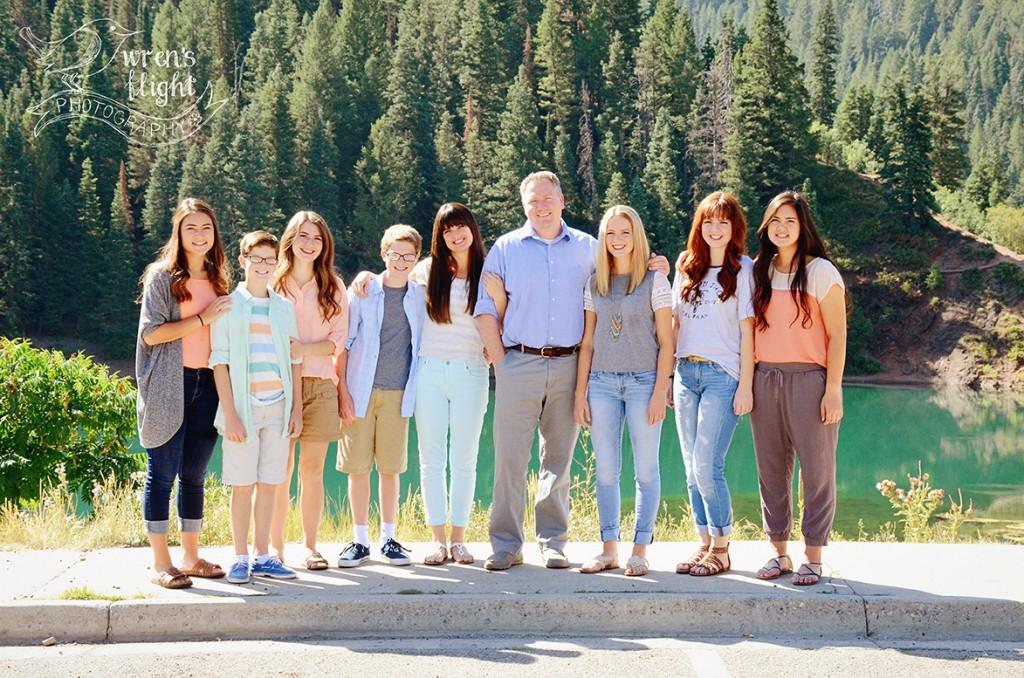 Tiblefork Utah Family Photographer