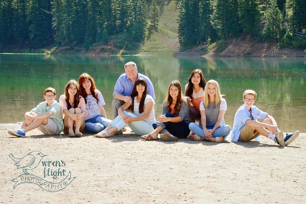 Utah Reservoir Green Lake Portrait