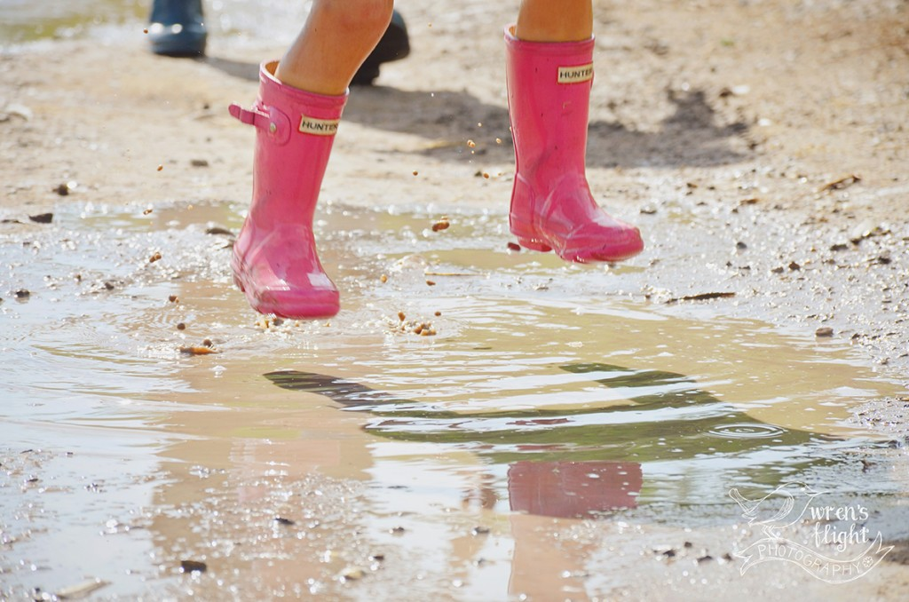 Mud Puddle Jump Pink Boots