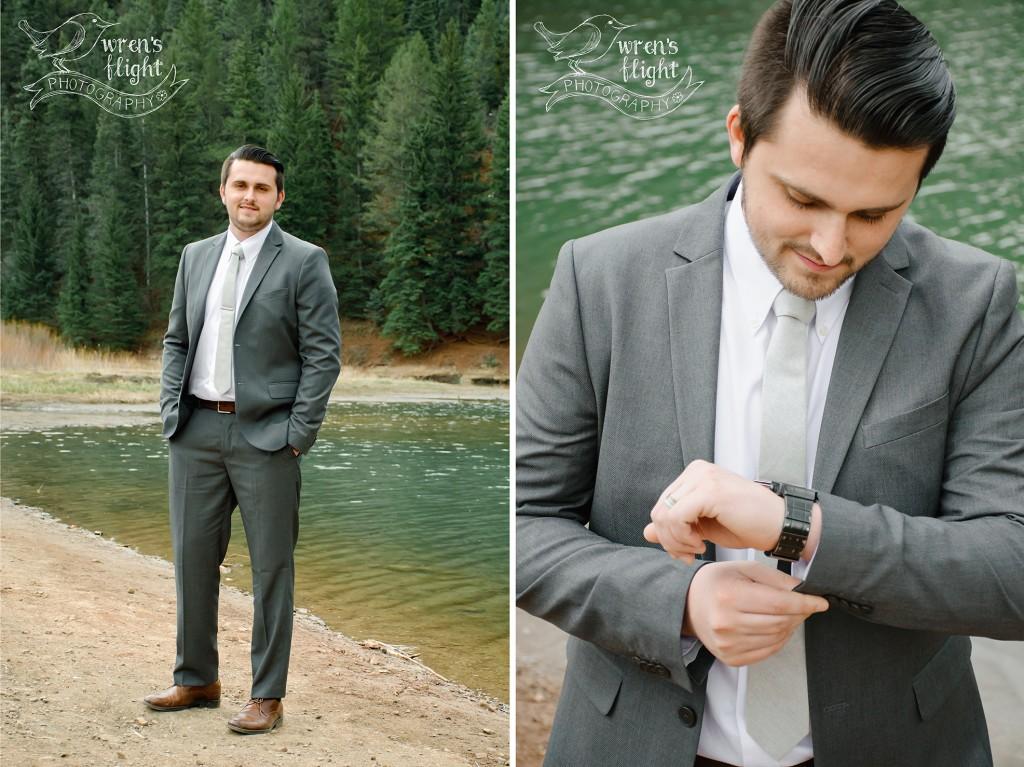 Groom Detail Shots Utah Wedding Photographer