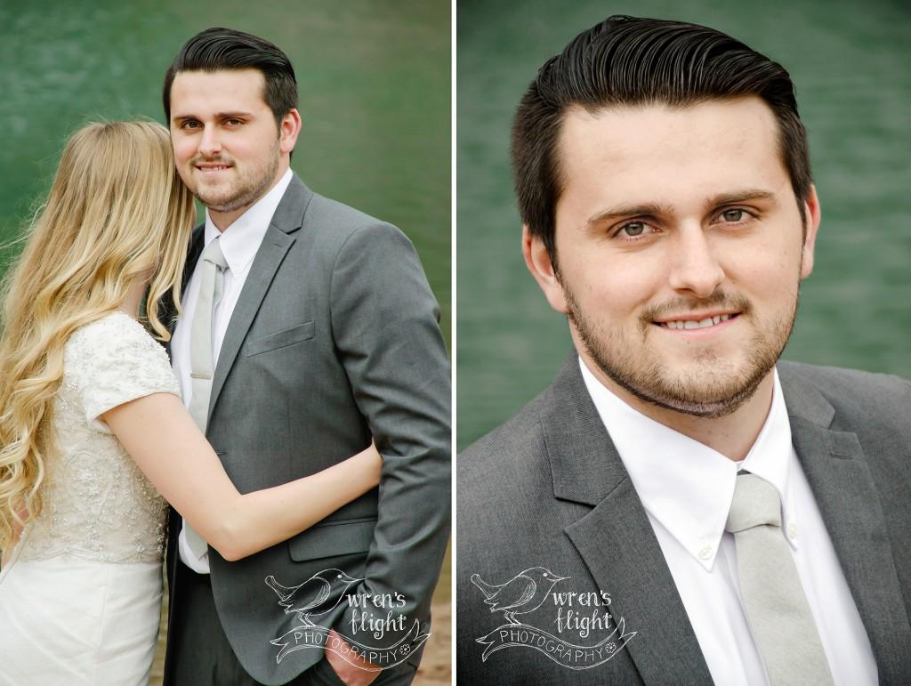 Groom Portrait Utah Wedding Photographer
