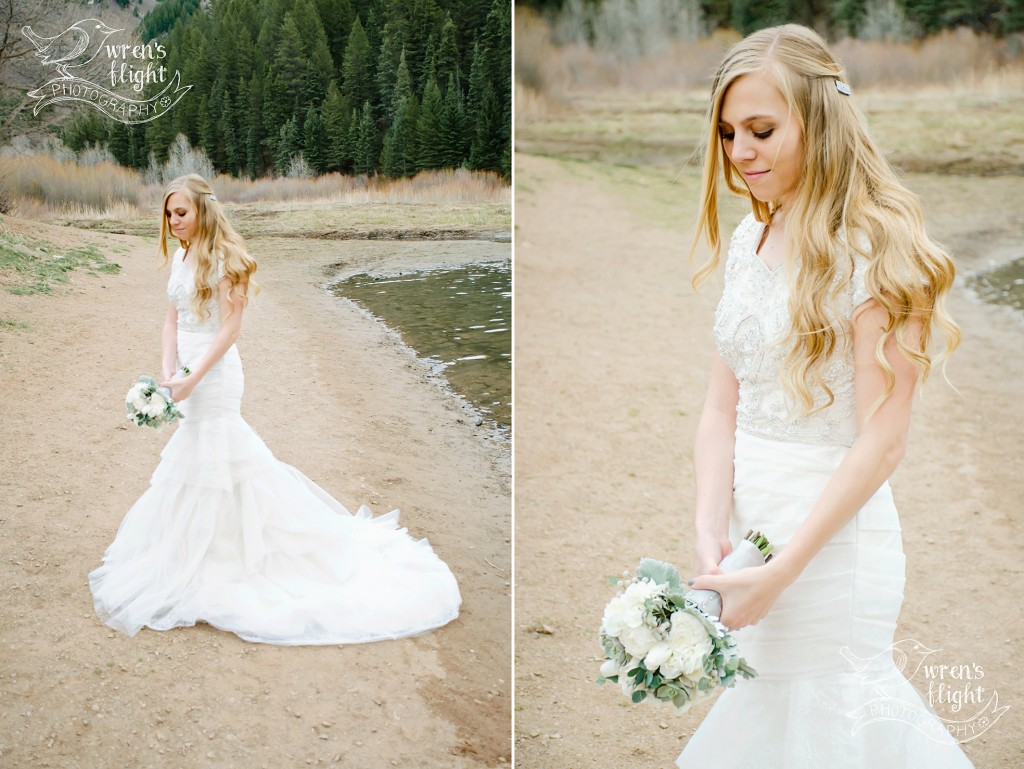 Utah Bridal Photography Tibblefork