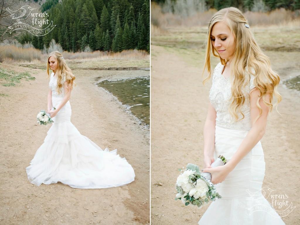 Utah Bridal Photography Tibblefork