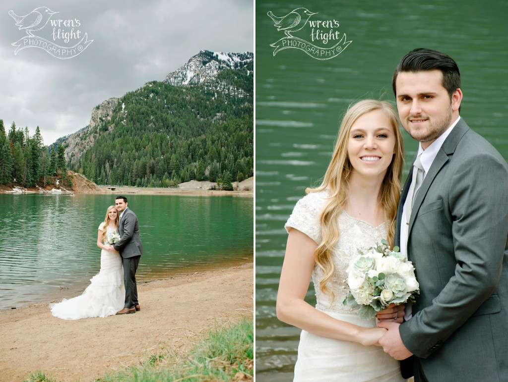 Utah Mountains Tibblefork Wedding Photographer